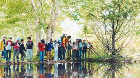 Enjoy nature through fun activities