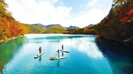 Lake Suganuma boasts the clearest water in Japan.